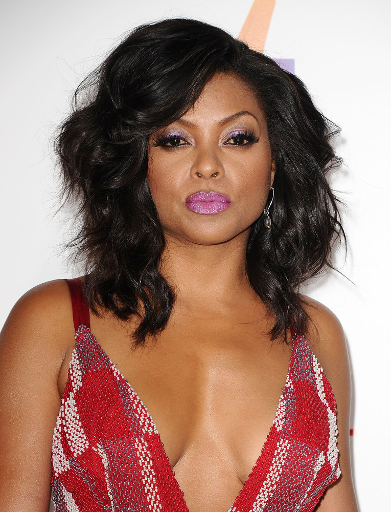 HOLLYWOOD, CA - JUNE 09:  Actress Taraji P. Henson attends the premiere of 'Think Like A Man Too' at TCL Chinese Theatre on J