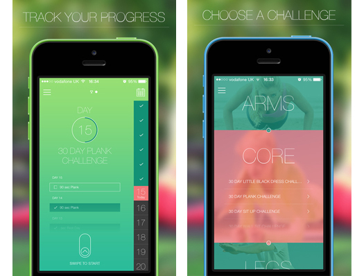 This is the app for those that want to comprehensively put two fingers up at the gym obsessives. It's a fully fledges workout