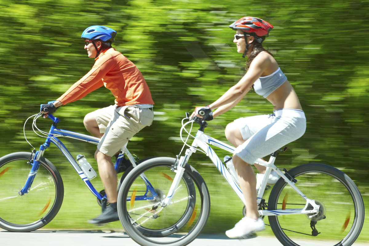 """A 2012 report found that spending time in the out of doors made people <a href=""""http://www.telegraph.co.uk/health/healthnews/"""