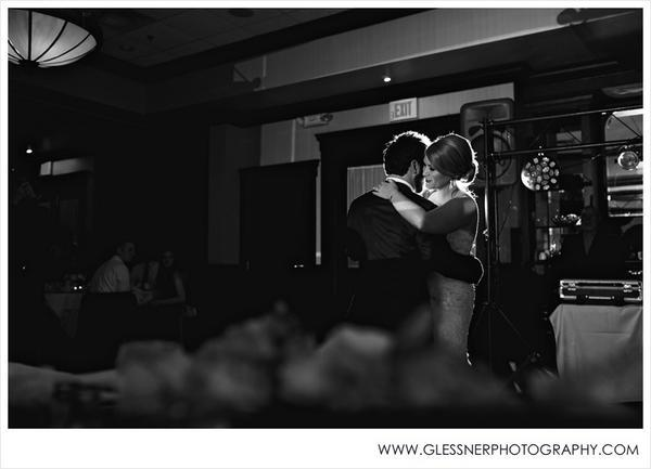 """Joe and Jordan said 'I do' at at Maggianos, Nashville on Saturday."" -- Glessner Photography"