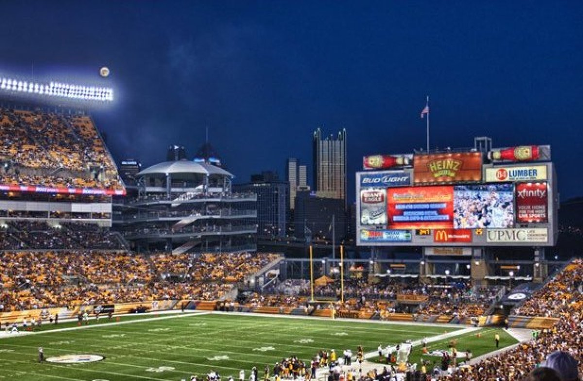 Heinz Field makes the list for two craft beer concession stands (located in multiple sections throughout the stadium) with on