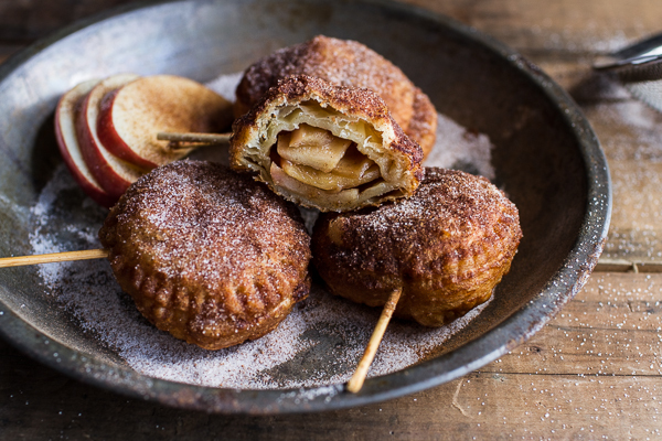 "<strong>Get the <a href=""http://www.halfbakedharvest.com/fried-apple-pies-links-inspire/"" target=""_blank"">Fried Apple Pies re"