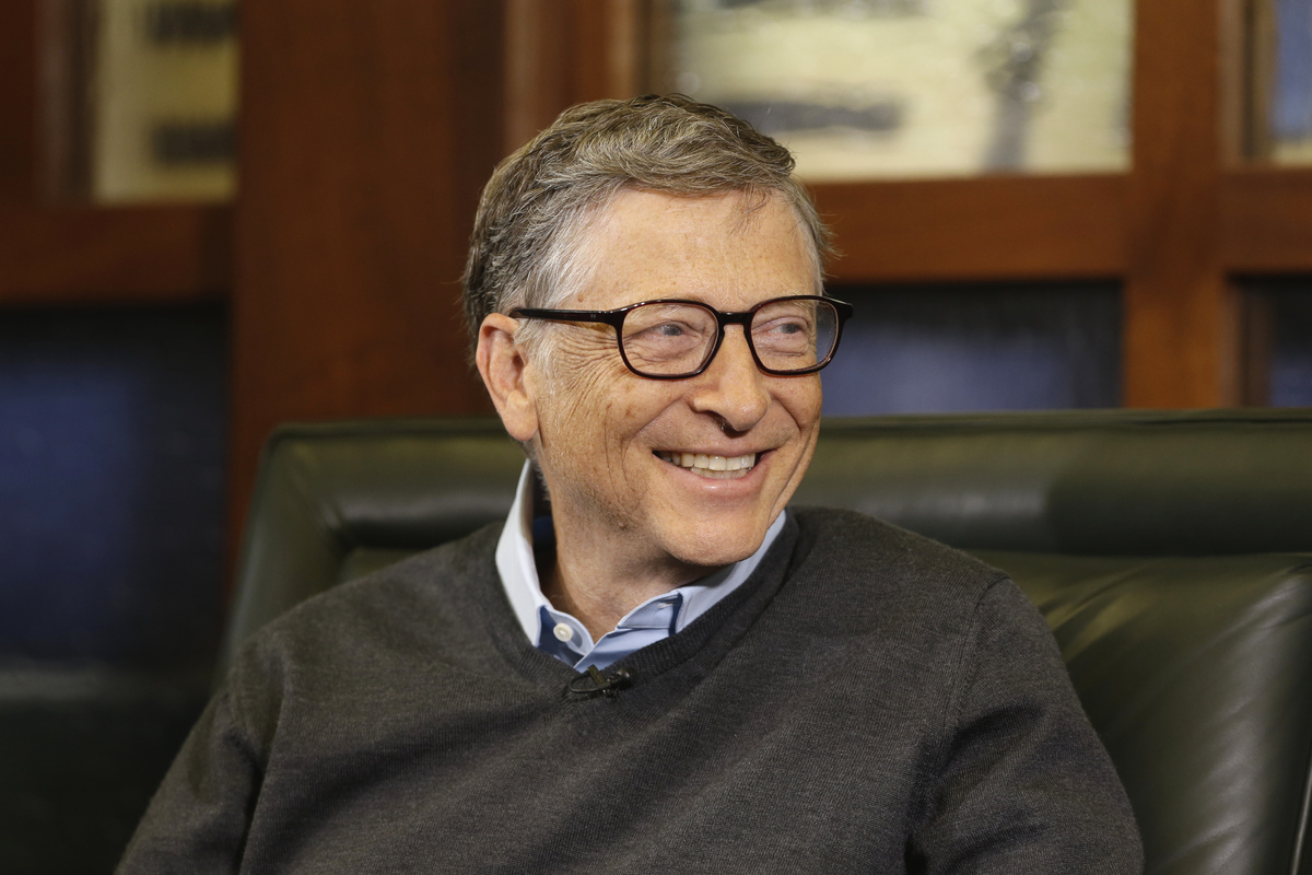 Net Worth: $81 B Source of wealth: Microsoft  (AP Photo/Nati Harnik)
