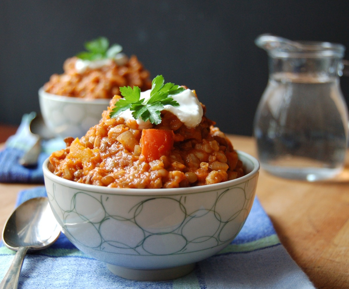 22 vegetarian meals that have more protein than a mcdonalds burger this dish contains 13 grams of protein per serving brbr forumfinder Images