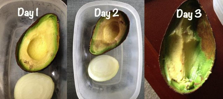 Avocados are creamy, delicious and nutritious but you don't always need the entire thing at once. To keep your avocado halves