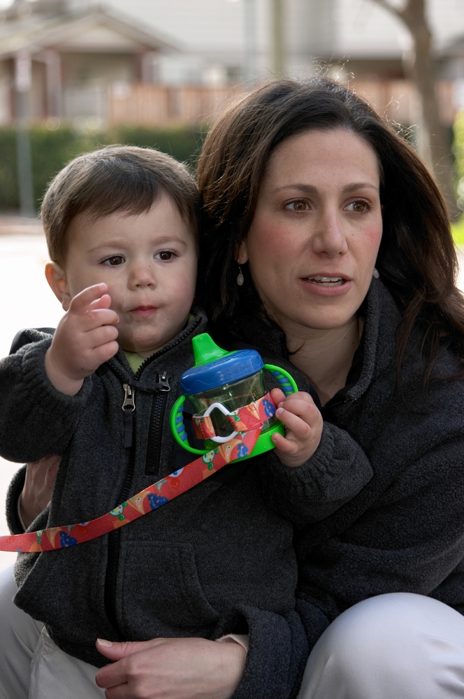 Sari Davidson, an HR exec and mother of two, needed a product that she could attach to her son's sippy cup so that it wouldn'
