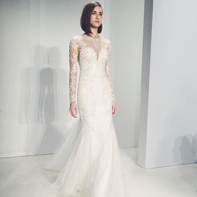Top Wedding Dress Trends From The Fall 2015 Bridal Runways