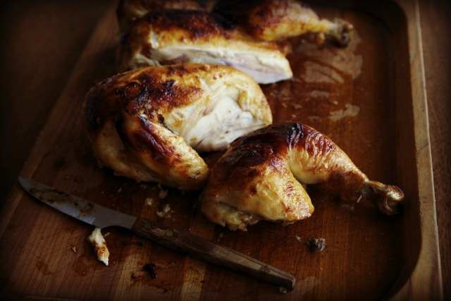 "<strong>Get the <a href=""http://www.steamykitchen.com/22274-miso-roast-chicken-recipe.html"" target=""_blank"">Miso Roast Chicke"