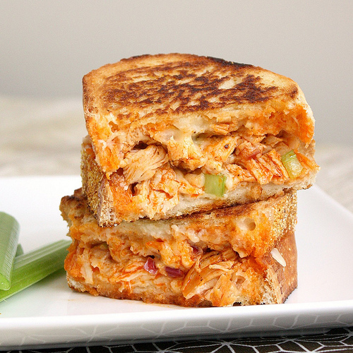 """<strong>Get the <a href=""""http://traceysculinaryadventures.blogspot.com/2012/03/buffalo-chicken-grilled-cheese.html#.UQLS0KHIP"""
