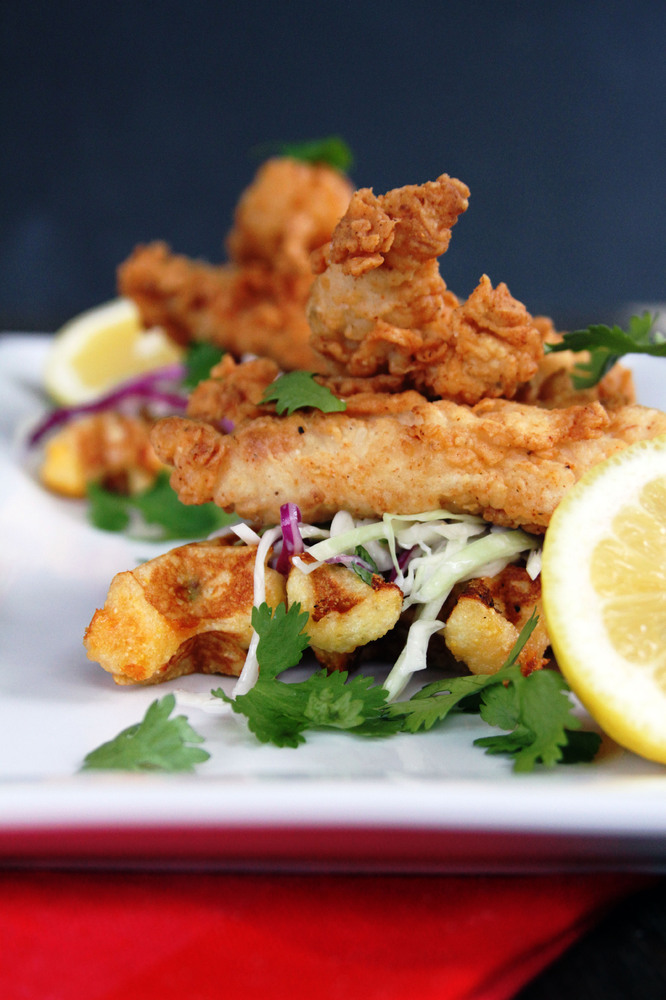 """<strong>Get the <a href=""""http://www.mylifeasamrs.com/2012/08/buttermilk-fried-chicken-tenders-with-cilantro-slaw-jalapeno-che"""