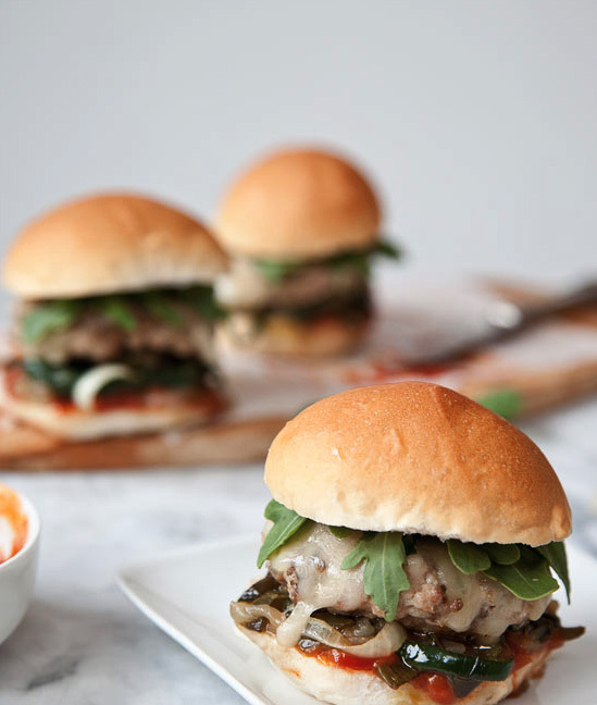 """<strong>Get the <a href=""""http://www.foodiecrush.com/2012/07/chicken-sliders-with-pasilla-peppers-and-chipotle-ketchup/"""">Chick"""