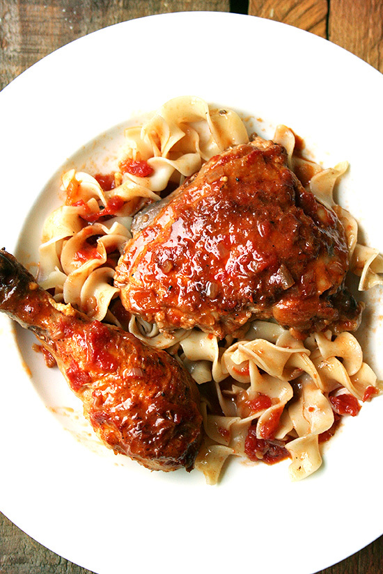 """<strong>Get the <a href=""""http://www.alexandracooks.com/2012/11/04/favorite-sunday-dinner-braised-chicken-with-sherry-sherry-v"""
