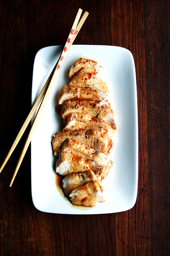 """<strong>Get the <a href=""""http://www.alexandracooks.com/2014/01/15/nobus-chicken-teriyaki-two-ways/"""" target=""""_blank"""">Chicken T"""