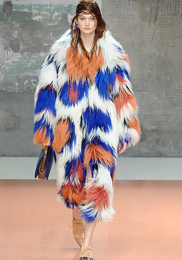 """When it comes to these runway looks, ladies, just say """"no."""" <br><br><b>Patchwork Fur</b><br>While we at <i>O</i> don't condon"""