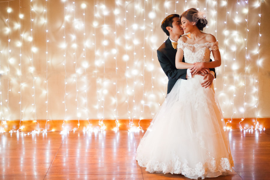 wedding lighting diy. Credit: Mastin Studio/\u003ca Wedding Lighting Diy