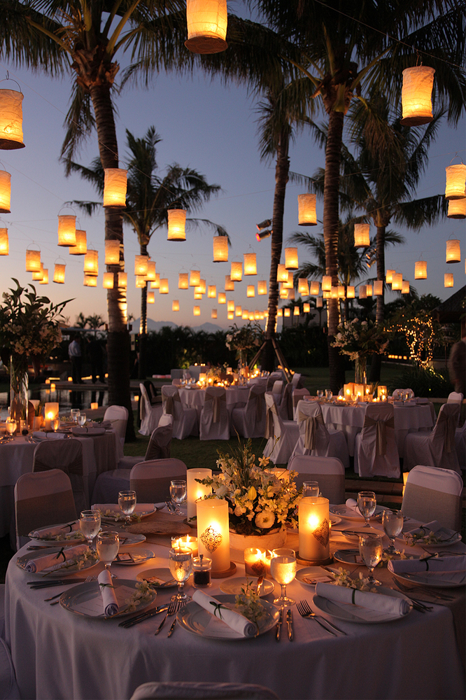 outside wedding lighting ideas. credit santana photography outside wedding lighting ideas d