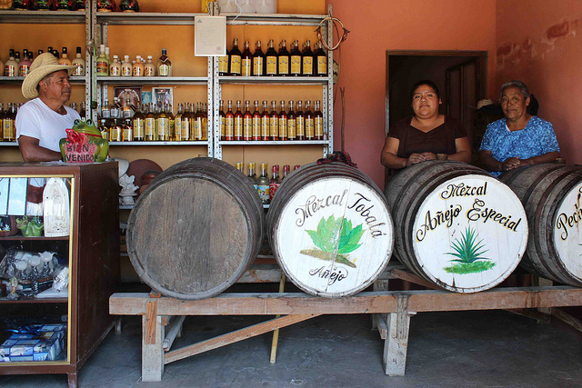 """Technically, all distillate of the agave plant is """"mezcal"""" -- even tequila, which specifically refers to liquor made primaril"""