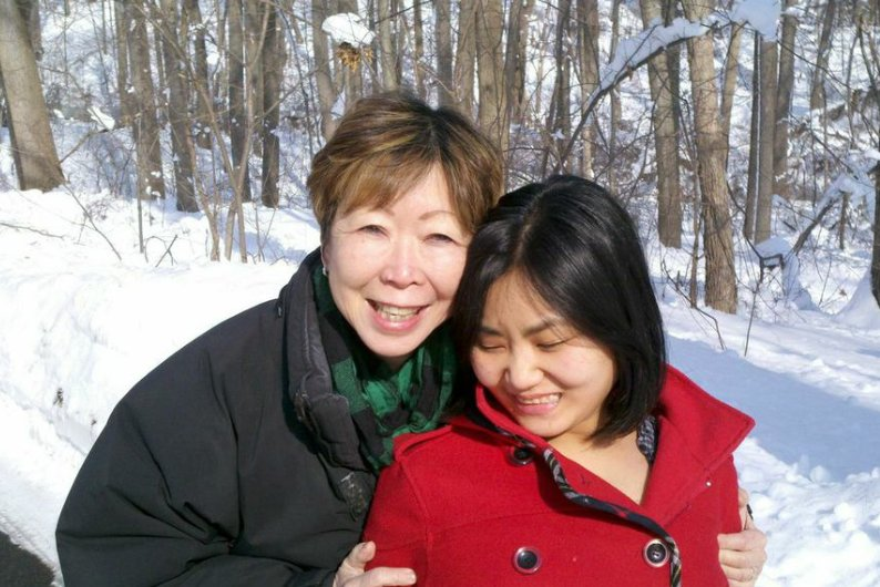 Julie Azuma, a successful designer in the apparel industry, adopted her first daughter, Miranda, from Korea as an infant. Whe