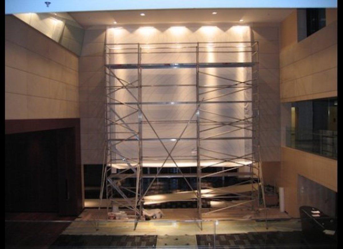 Installation by Sol LeWitt for Park Hyatt Zurich