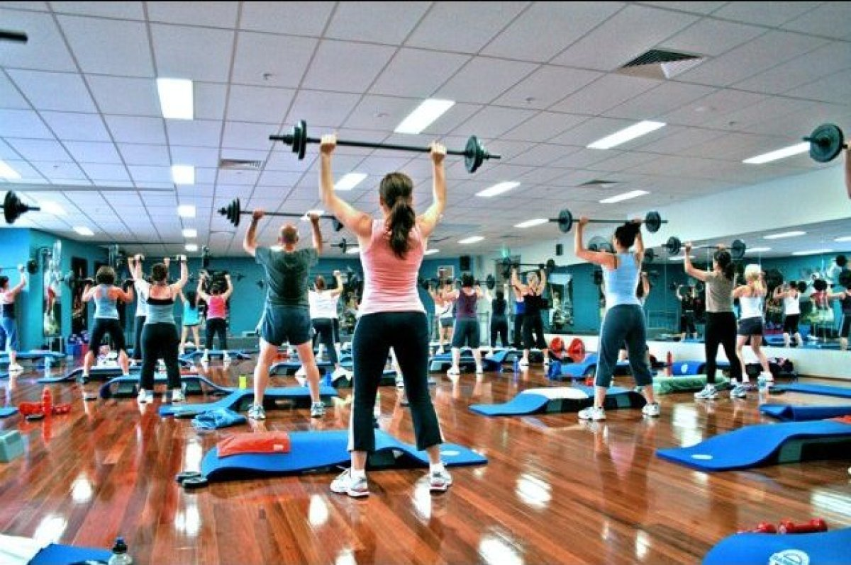 """""""The best suggestion I can make is group fitness,"""" says Danielle Girdano, certified master personal trainer and the president"""