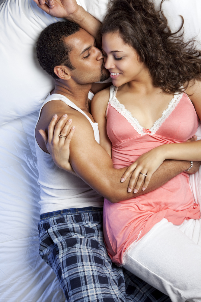 Sexuality Man And Woman In Bedroom
