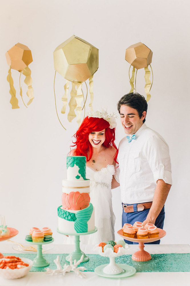 Little Mermaid Wedding Ideas For Your Disney Loving Heart