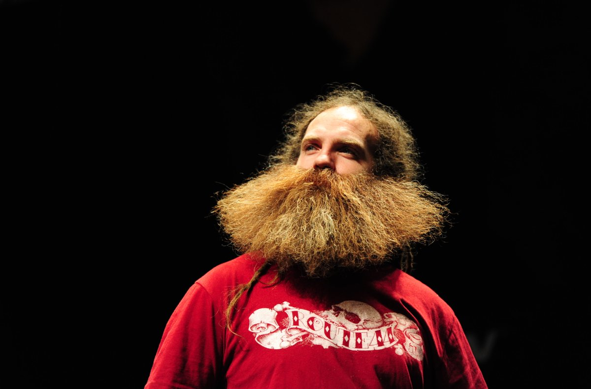 World Beard and Moustache Championships in Portland, Oregan, America