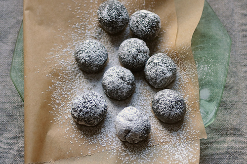 "<strong>Get the <a href=""http://food52.com/recipes/8644-fudgy-bourbon-balls"" target=""_blank"">Fudgy Bourbon Balls recipe from"