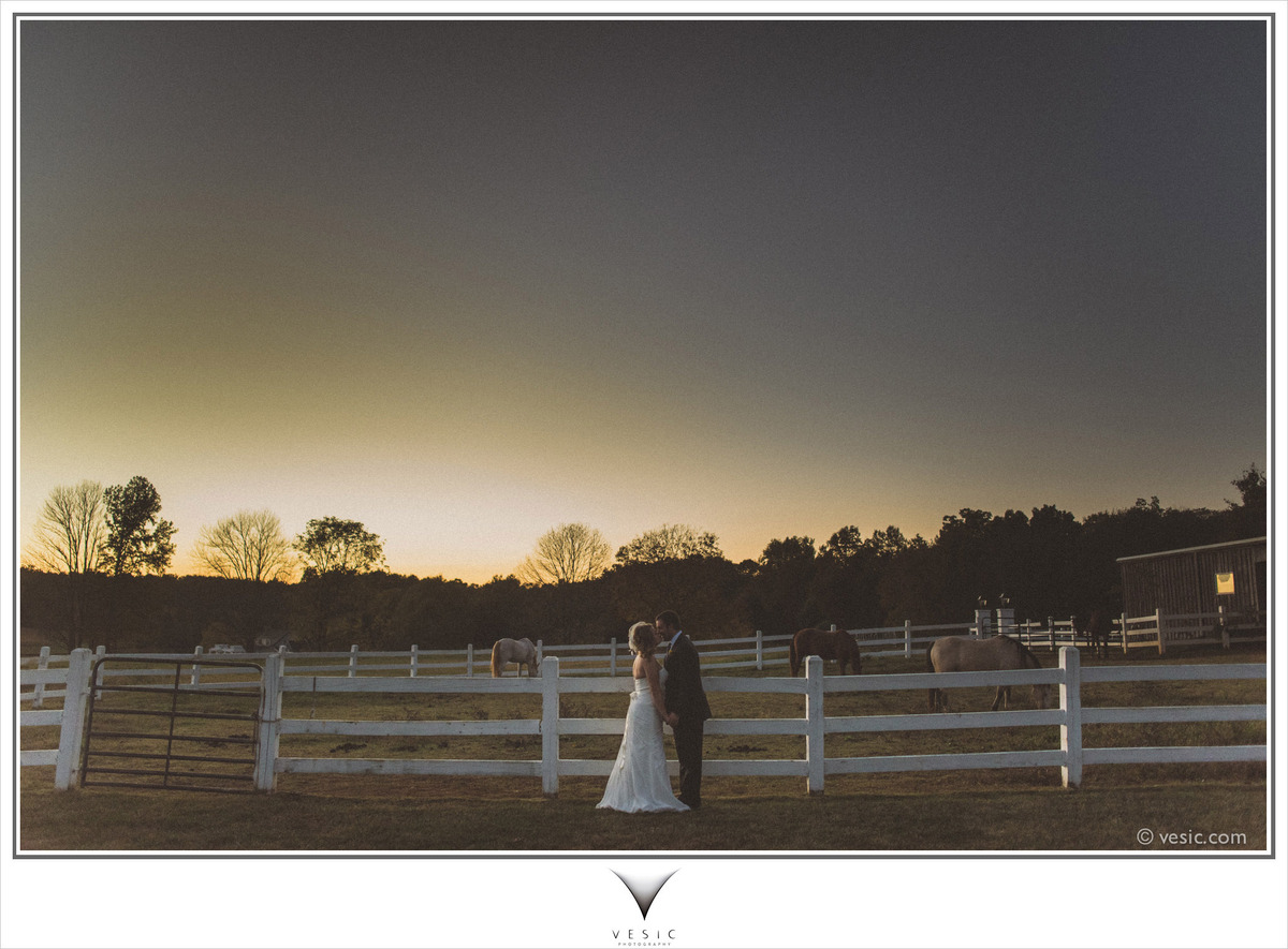 """""""Catching the last bit of sunset with Nikki and Justin yesterday at Adaumont Farms in North Carolina."""" - Hooman Bahrani"""