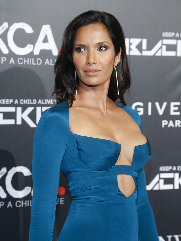 Padma Lakshmi attends Keep a Child Alive's 2014 Black Ball at the Hammerstein Ballroom on Thursday, Oct. 30, 2014, in New Y