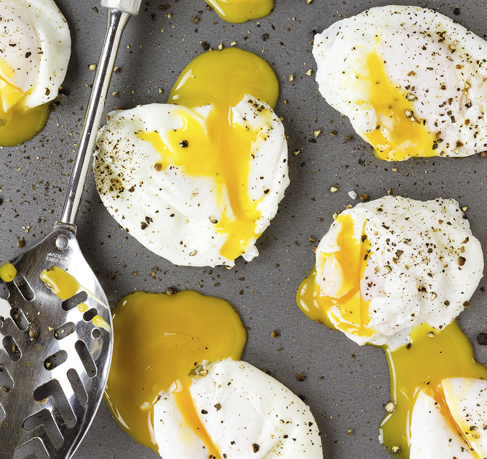 A warm poached egg with a gooey yolk is a thing to behold, creating an instant sauce for whatever else is on your plate and r