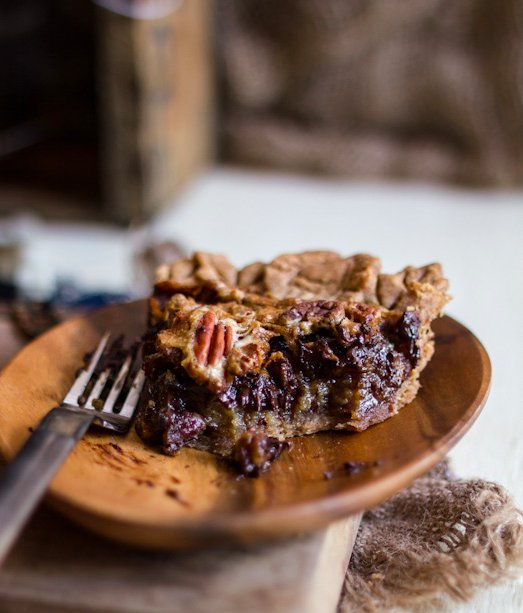 """<strong>Get the <a href=""""http://www.adventures-in-cooking.com/2012/11/chocolate-pecan-pie-giveaway.html"""" target=""""_blank"""">Choc"""