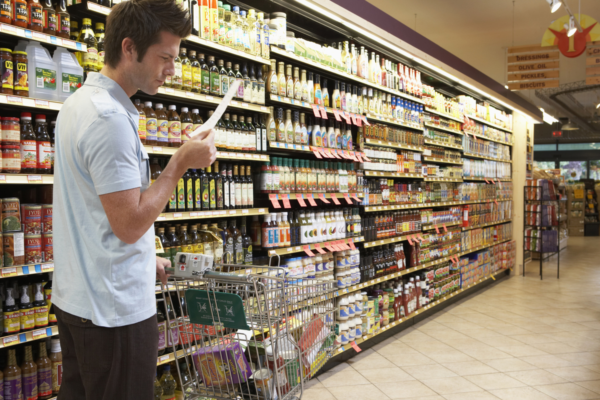 """Know your grocery store and go with a list of healthy foods in the order they are laid out. That will help you resist tempta"