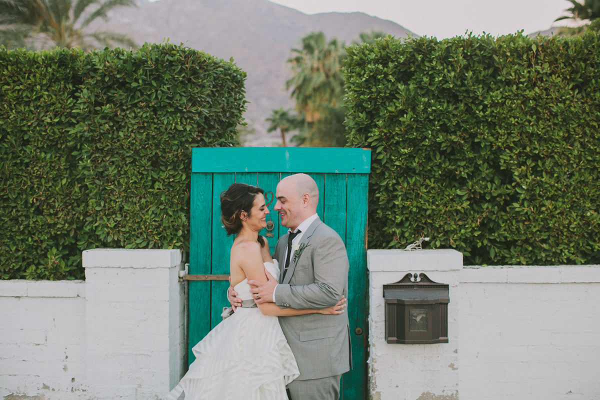 """Bill Anastas and Maud Beltran's Palm Springs wedding."" - Liz Sklar of Artisan Events"