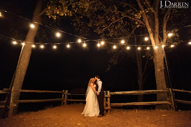 """""""Victoria and Jamey share a special moment together at the top of Morrow Mountain in Albermarle, North Carolina just after th"""