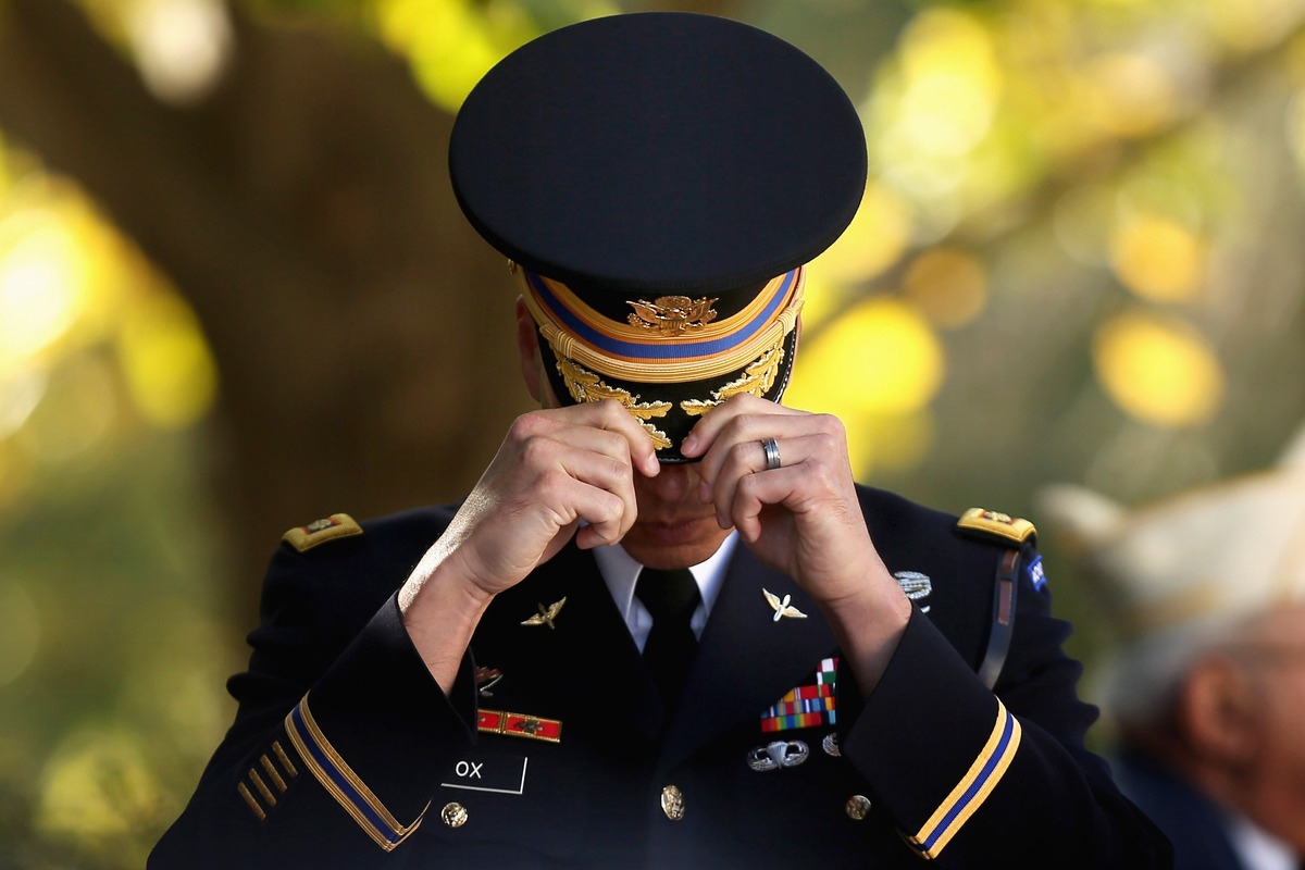 americans commemorate veterans day across the country huffpost
