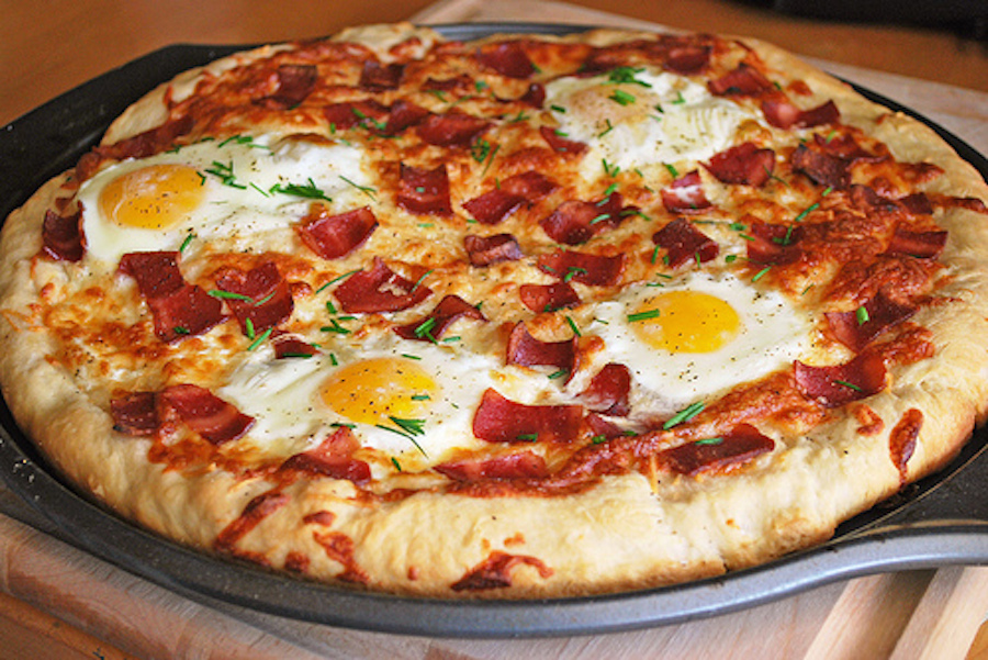 """<strong>Get the <a href=""""http://fakeginger.com/?p=1273"""">Bacon Breakfast Pizza</a> recipe by Fake Ginger</strong>"""