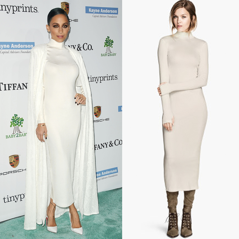 """<a href=""""http://www.hm.com/us/product/53871?article=53871-A"""" target=""""_blank"""">H&M Long Turtleneck Dress, $39</a>"""