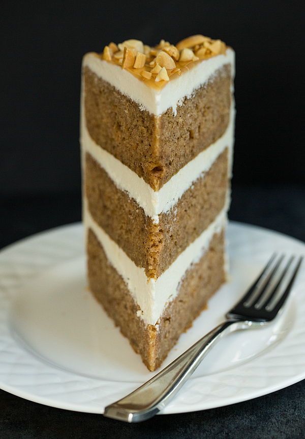 Spiced Honey Cake With Cream Cheese Icing