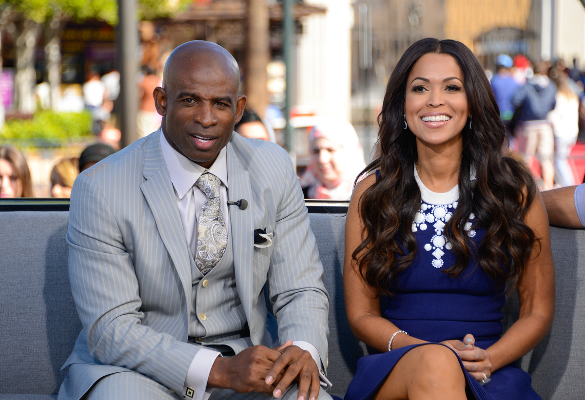 With Tracey Edmonds, November 2014