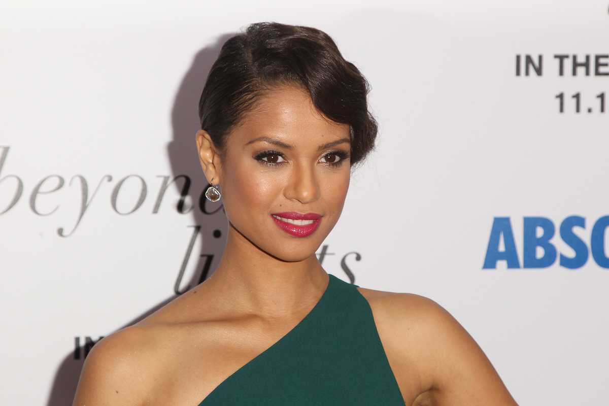 """Actress Gugu Mbatha-Raw attends the premiere of """"Beyond The Lights"""" at the Regal Union Square on Thursday, Nov. 13, 2014, in"""