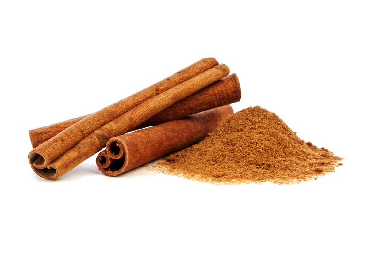 Cinnamon, which comes from the bark of a type of evergreen tree, is said to contain more antioxidants than any other spice. A