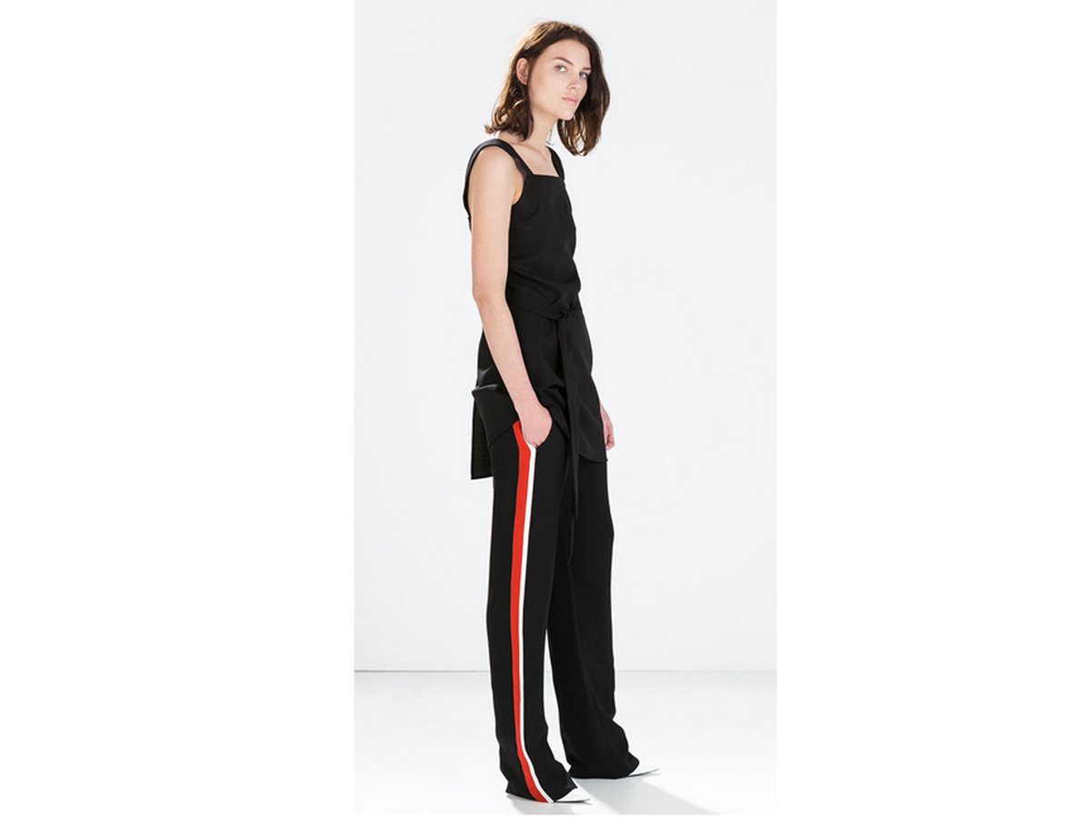 """<a href=""""http://www.zara.com/us/en/woman/trousers/pajama-style-trousers-with-side-stripes-c269187p2336536.html"""" target=""""_blan"""