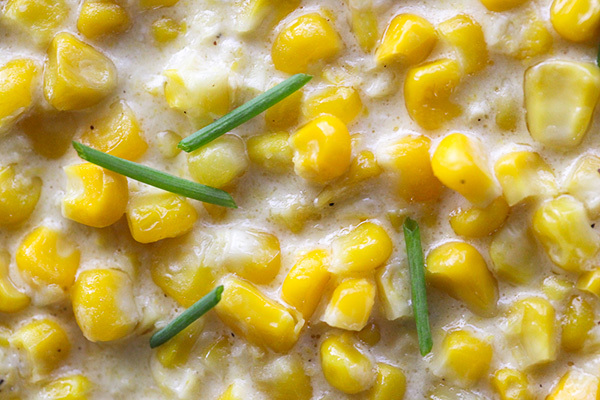 If you don't already make creamed corn for Thanksgiving, this is the year you try it. This stuff is goood.