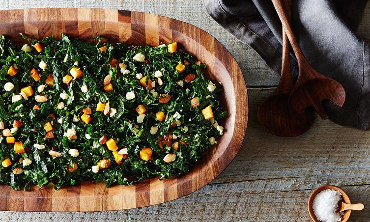 "<strong>Get <a href=""http://food52.com/recipes/15584-northern-spy-s-kale-salad"" target=""_blank"">Northern Spy's Kale Salad rec"