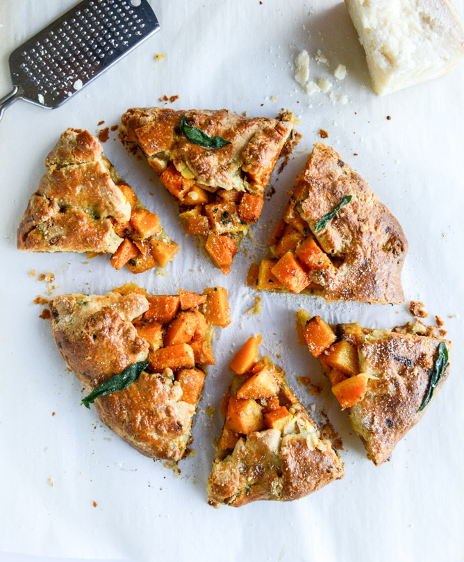 """<strong>Get the <a href=""""http://www.howsweeteats.com/2014/11/parmesan-sage-crusted-butternut-squash-galette/"""" target=""""_blank"""""""