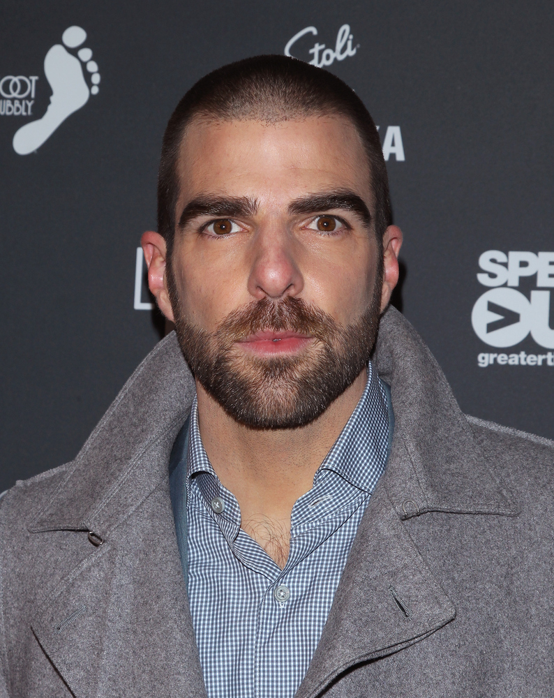 NEW YORK, NY - NOVEMBER 20: Actor Zachary Quinto attends the OUT100 2014 awards at Stage 48 on November 20, 2014 in New York
