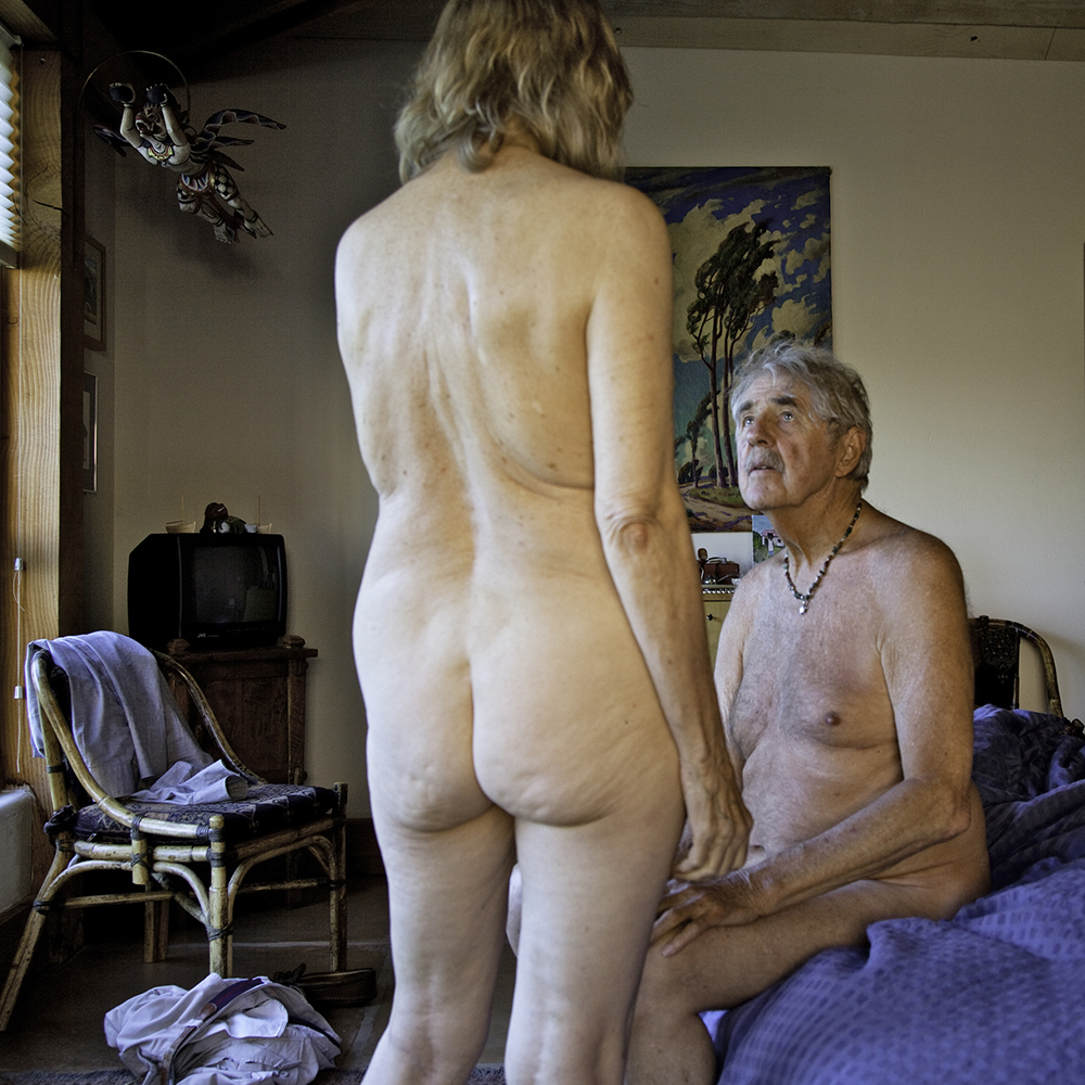 An elder nude portrait by jade beall is going viral