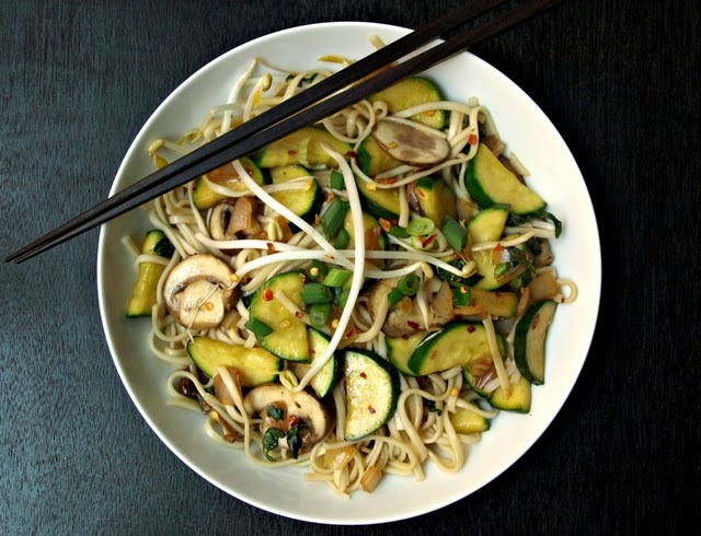 """<strong>Get the <a href=""""http://thesimpleveganista.blogspot.com/2012/07/udon-noodles.html"""" target=""""_blank"""">Simple Udon Noodle"""