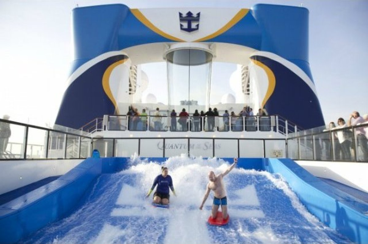 It wouldn't be shocking to hear that you can surf on a cruise vacation, after all many cruises make stops in tropical hotspot